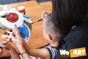 Lớp mỹ thuật cho trẻ em 7 - 12 tuổi