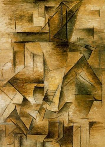 """Bức """"Le Guitariste"""" - Pablo Picasso (1910)"""